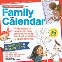 Questioneers Family Planner 2021 Wall Calendar