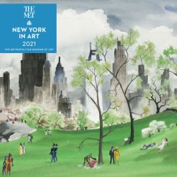 New York in Art 2021 Wall Calendar