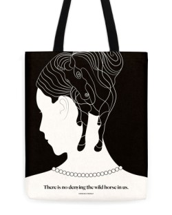 "Virginia Woolf ""Horse"" Tote"
