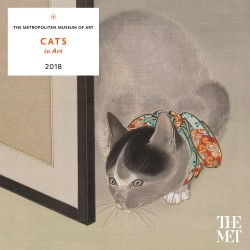 Cats in Art 2018 Wall Calendar