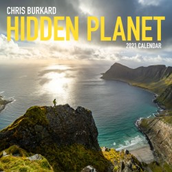 Chris Burkard Hidden Planet 2021 Wall Calendar