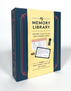 Memory Library (Kit) Record Your Life on Date-Stamped Cards