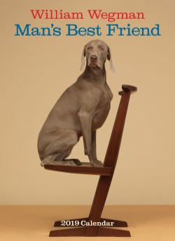 William Wegman Man's Best Friend 2019 Wall Calendar