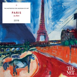 Paris in Art 2019 Wall Calendar