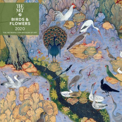Birds and Flowers 2020 Wall Calendar