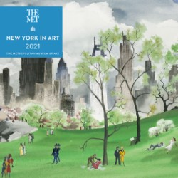 New York in Art 2021 Mini Wall Calendar