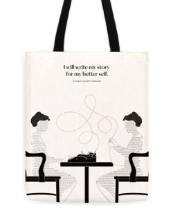 "Elizabeth Browning ""Self"" Tote"