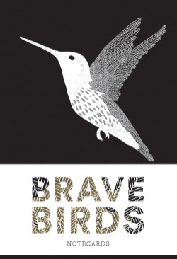 Brave Birds Notecards