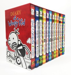 Diary of a Wimpy Kid Box of Books (1–12)