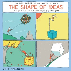 Shape of Ideas 2018 Wall Calendar A Year of Thinking Outside the Box