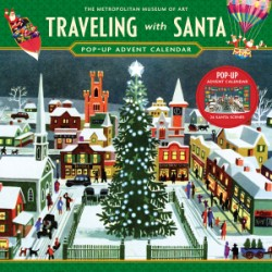 Traveling with Santa Pop-up Advent Calendar