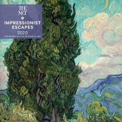 Impressionist Escapes 2020 Mini Wall Calendar