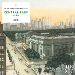 Central Park in Art 2018 Wall Calendar