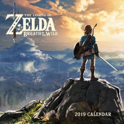 Legend of Zelda: Breath of the Wild 2019 Wall Calendar