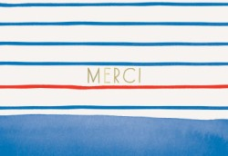 Paris Street Style Notecards: Merci