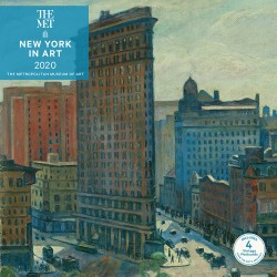 New York in Art 2020 Wall Calendar