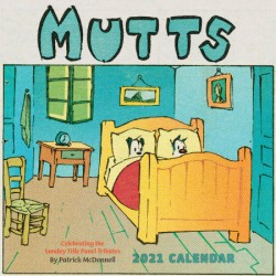 Mutts 2021 Wall Calendar Celebrating the Sunday Title Tributes