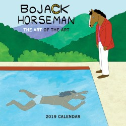 BoJack Horseman 2019 Wall Calendar The Art of the Art