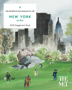 New York in Art 2018 Engagement Book