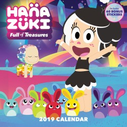 Hanazuki Full of Treasures 2019 Wall Calendar