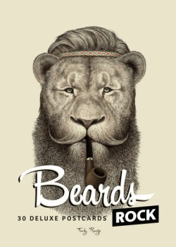 Beards Rock 30 Deluxe Postcards