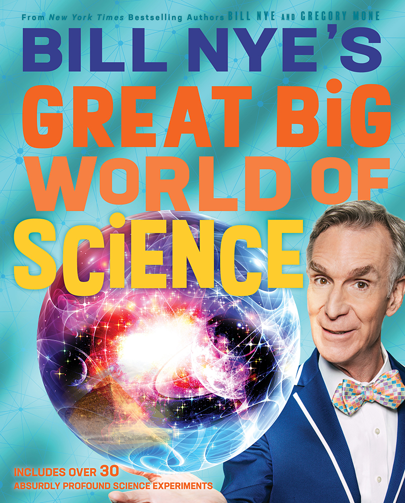 Bill Nye joined CBS This Morning to share an at-home experiment from GREAT BIG WORLD OF SCIENCE